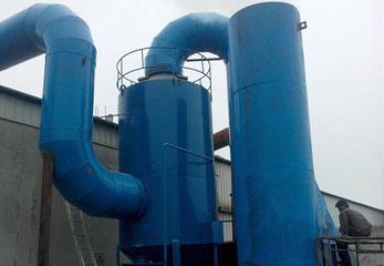 惯性除尘器是怎样完成除尘操作的